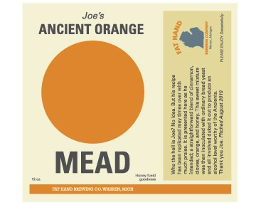 Joes Ancient Orange Mead